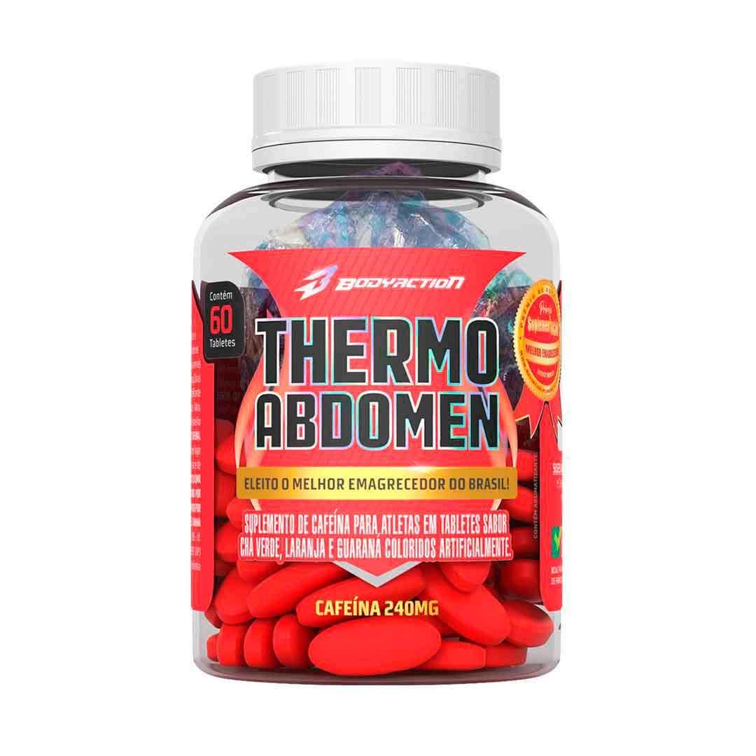 Termogênico Thermo Abdomen 60Caps  Body Action