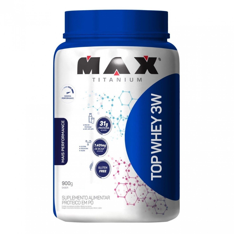 Top Whey 3W +Performance 900G Vitamina De Frutas Max Titanium