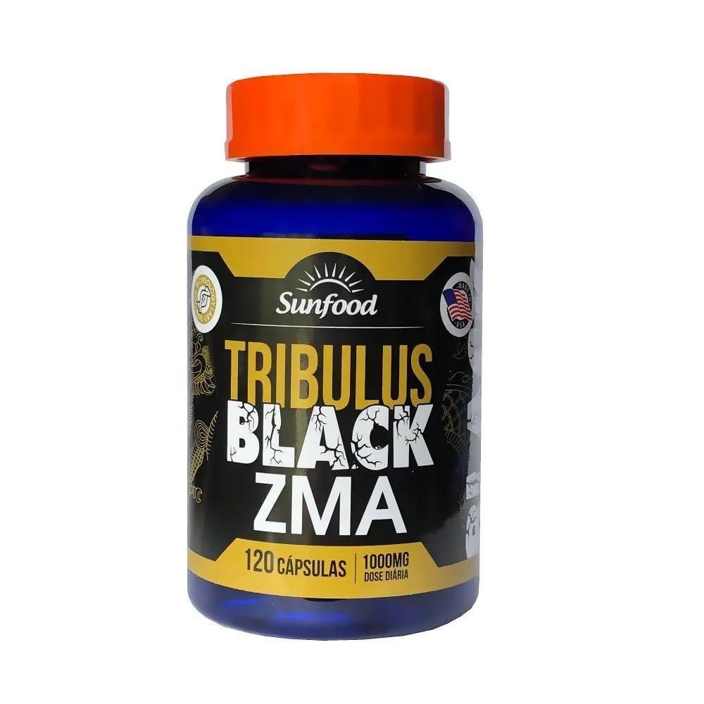 Tribulus Black ZMA 120 cápsulas - SunFood