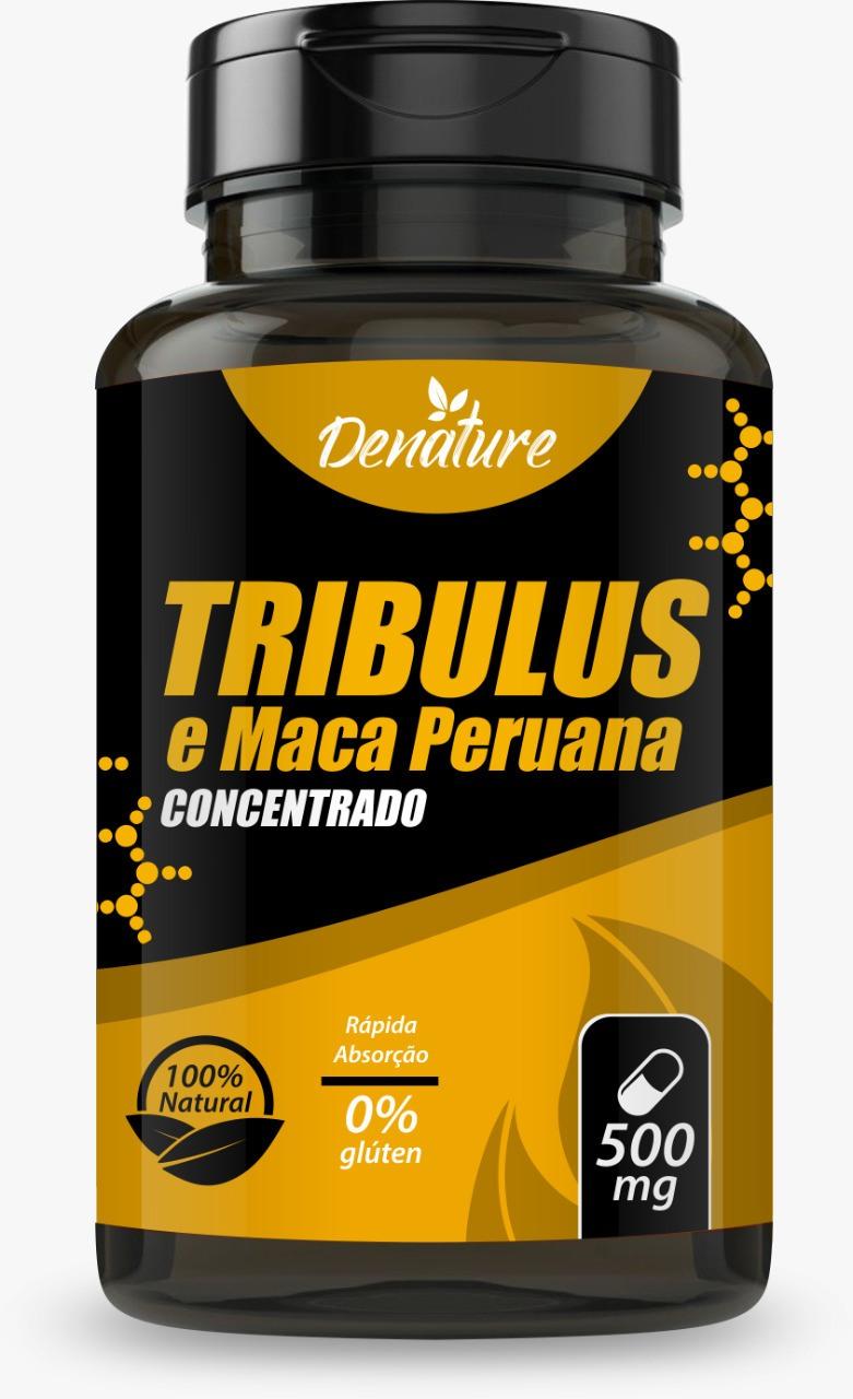 TRIBULUS COM MACA PERUANA - 100 CÁPSULAS 500MG