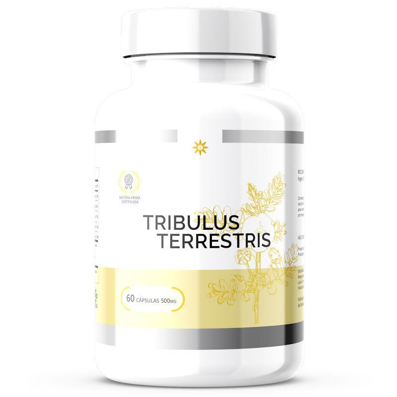 Tribulus terrestris - 50% de Saponinas - 500mg 60 Cápsulas