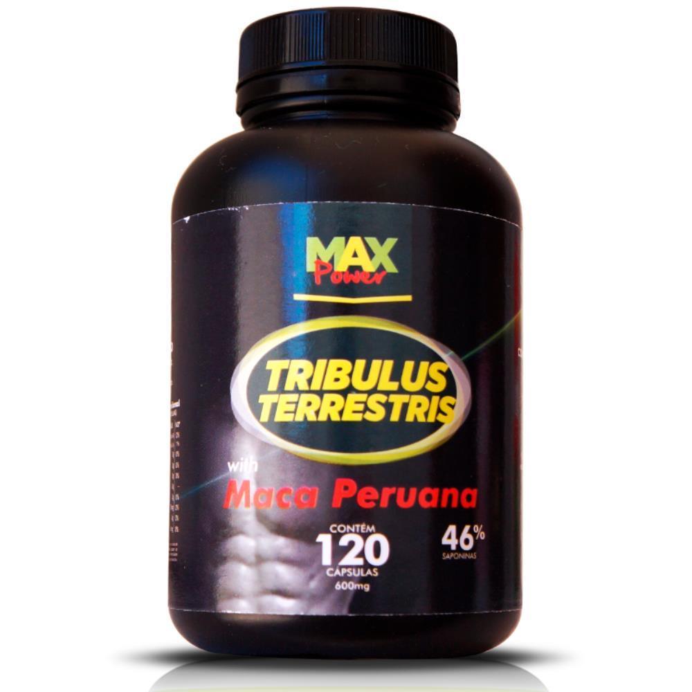 Tribulus Terrestris Com Maca Peruana 120 Capsulas - Max Power