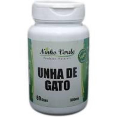 Unha de Gato – 500mg – 60 Capsulas – Ninho Verde