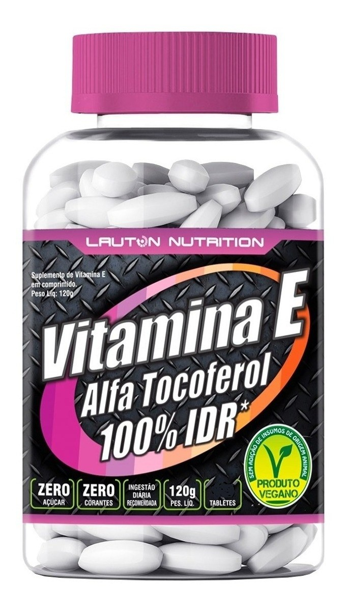 Vitamina E 60 Tabs 1000Mg Lauton Nutrition