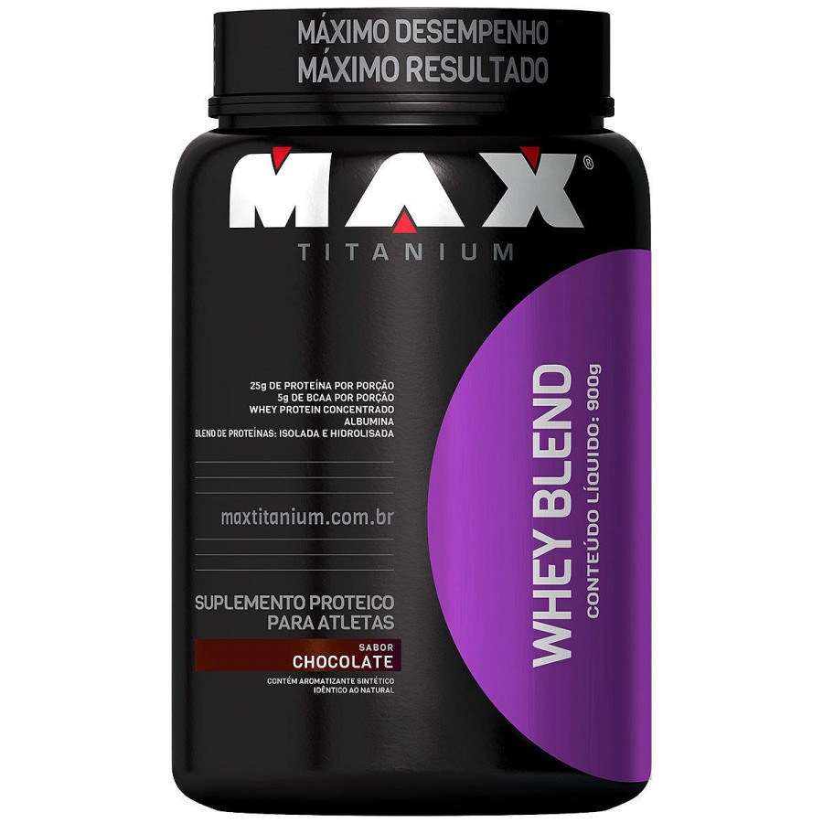 Whey Blend 900G Chocolate Max Titanium