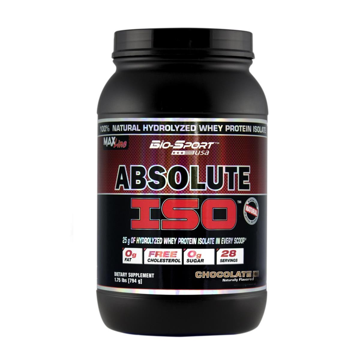 Whey Isolado Absolute Iso 900Gr Morango Bio-Sport