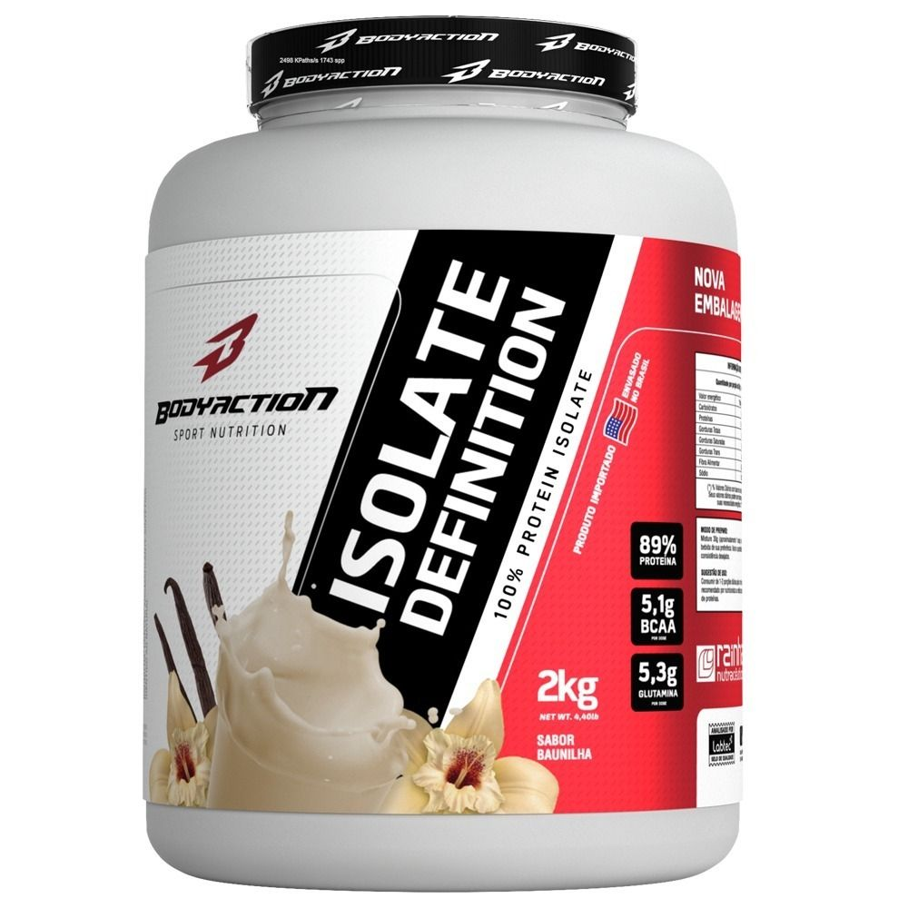Whey Isolate Definition 2Kg Baunilha Body Action