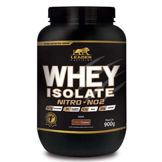 Whey Isolate Nitro No2 - Pote 900G - Chocookie Leader Nutrition