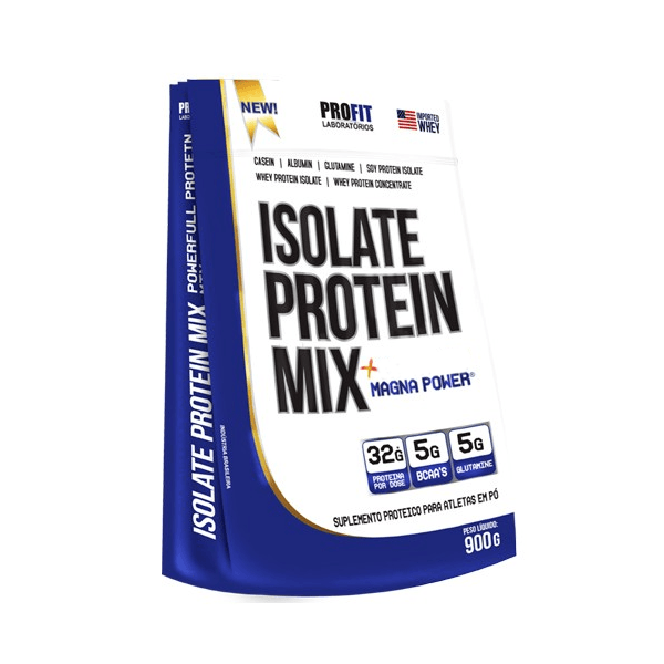 Whey Isolate Protein Mix 1.8Kg Baunilha - Profit