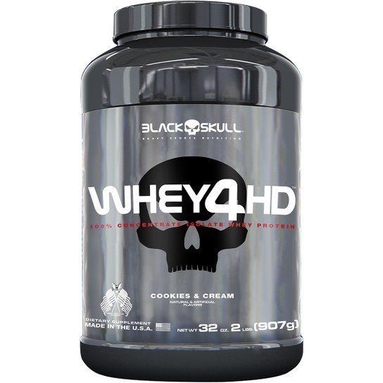 Whey Protein 4Hd 907Gr Cookies & Cream Blackskull