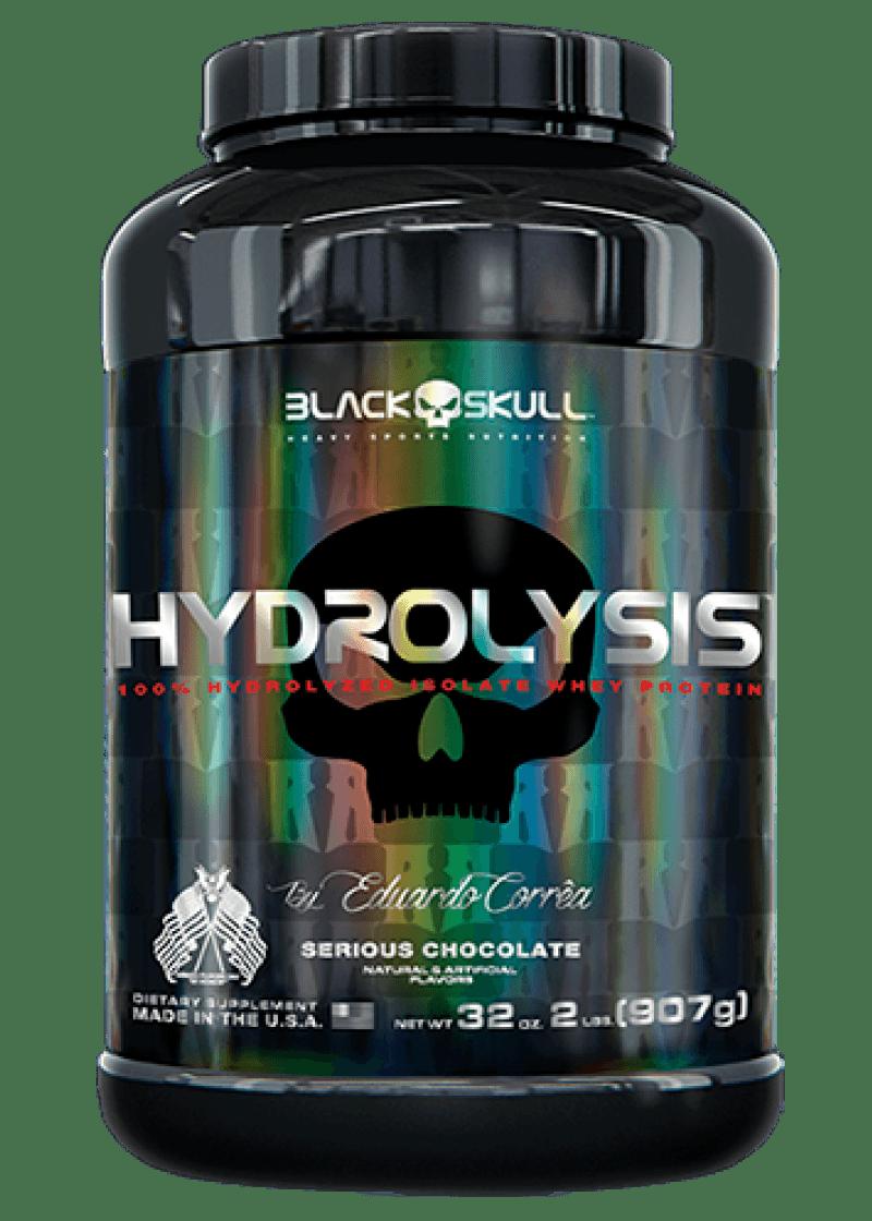 Whey Protein Hidrolisado Hydrolysis 900G Chocolate Black Skull