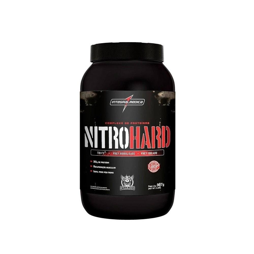 Whey Protein Nitro Hard 907G Chocolate C/Amendoim Integralmedica