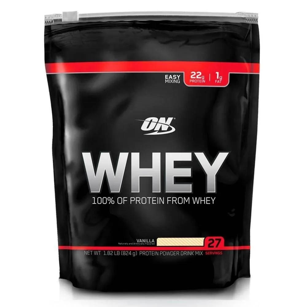 Whey Protein On Refil Baunilha 824 g Optimun Nutrition