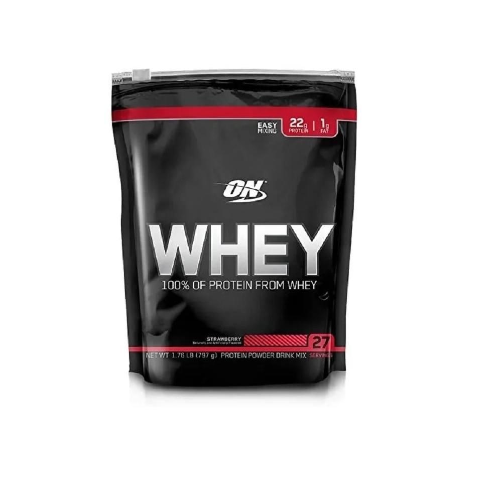 Whey Protein On Refil Morango 797 g Optimun Nutrition