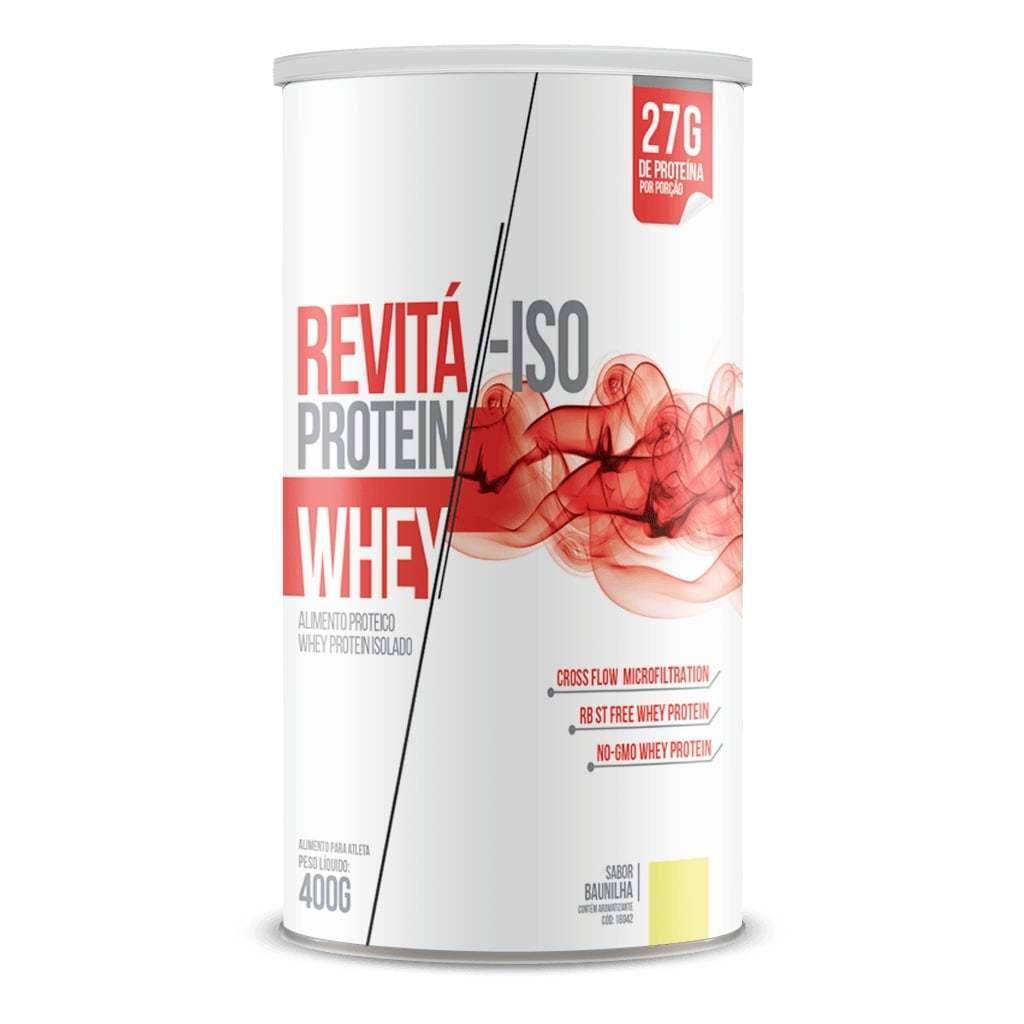 Whey Protein Revitá-ISO 400g Sabor Baunilha