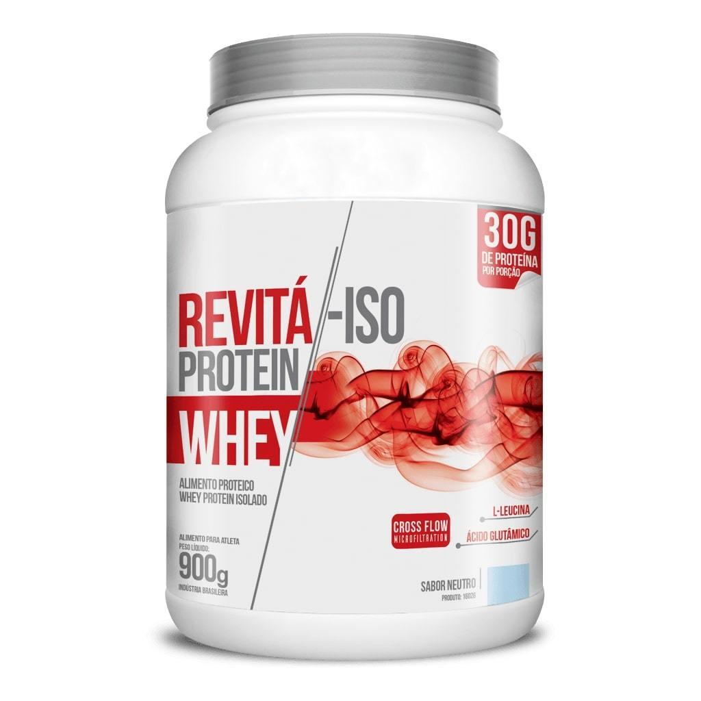 Whey Protein Revitá-ISO 900g Sabor Neutro