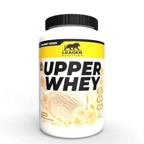 Whey Protein Upper Whey 900G Banana Leader Nutrition
