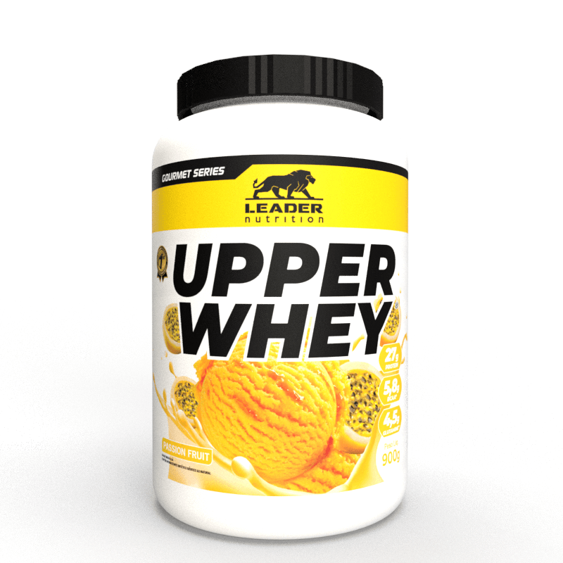 Whey Protein Upper Whey 900G Passion Fruit/Maracuja Leader Nutrition