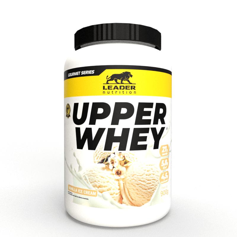 Whey Protein Upper Whey 900G Vanilla Ice-Cream Leader Nutrition