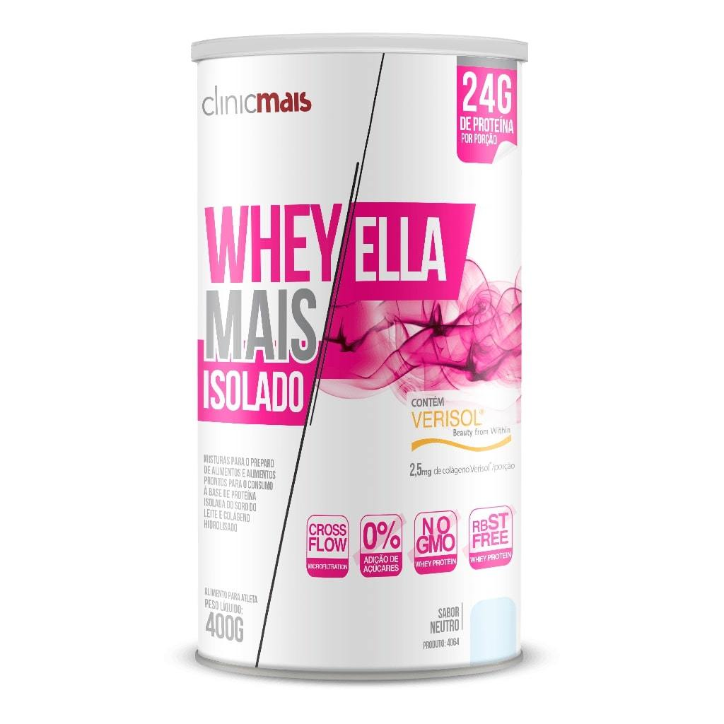 Whey Revitá Mais Ella 400g Sabor Neutro
