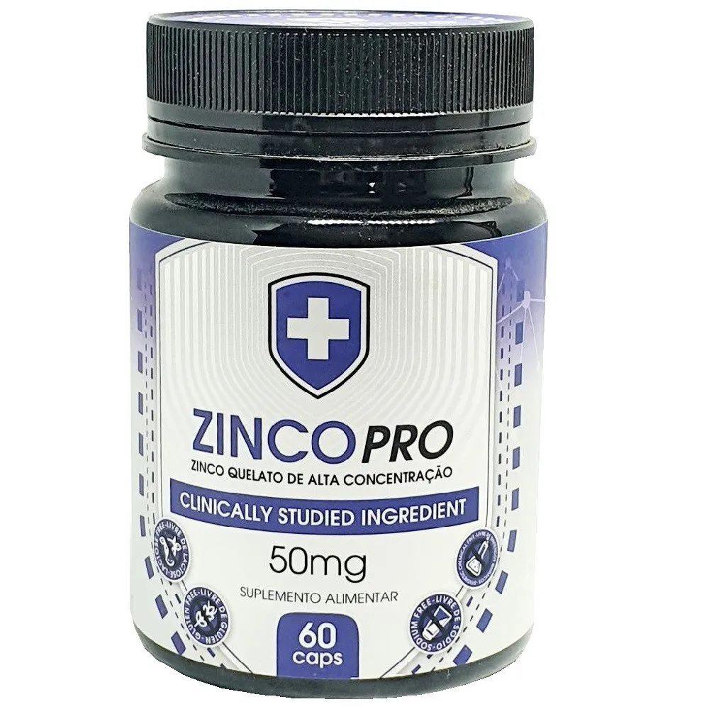 Zinco Quelato Pro 60 Cáps. 50 mg Sunfood