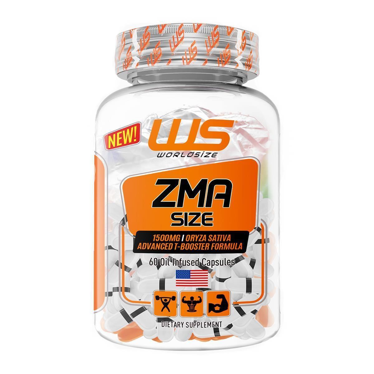 Zma Size 60 Caps Worldsize