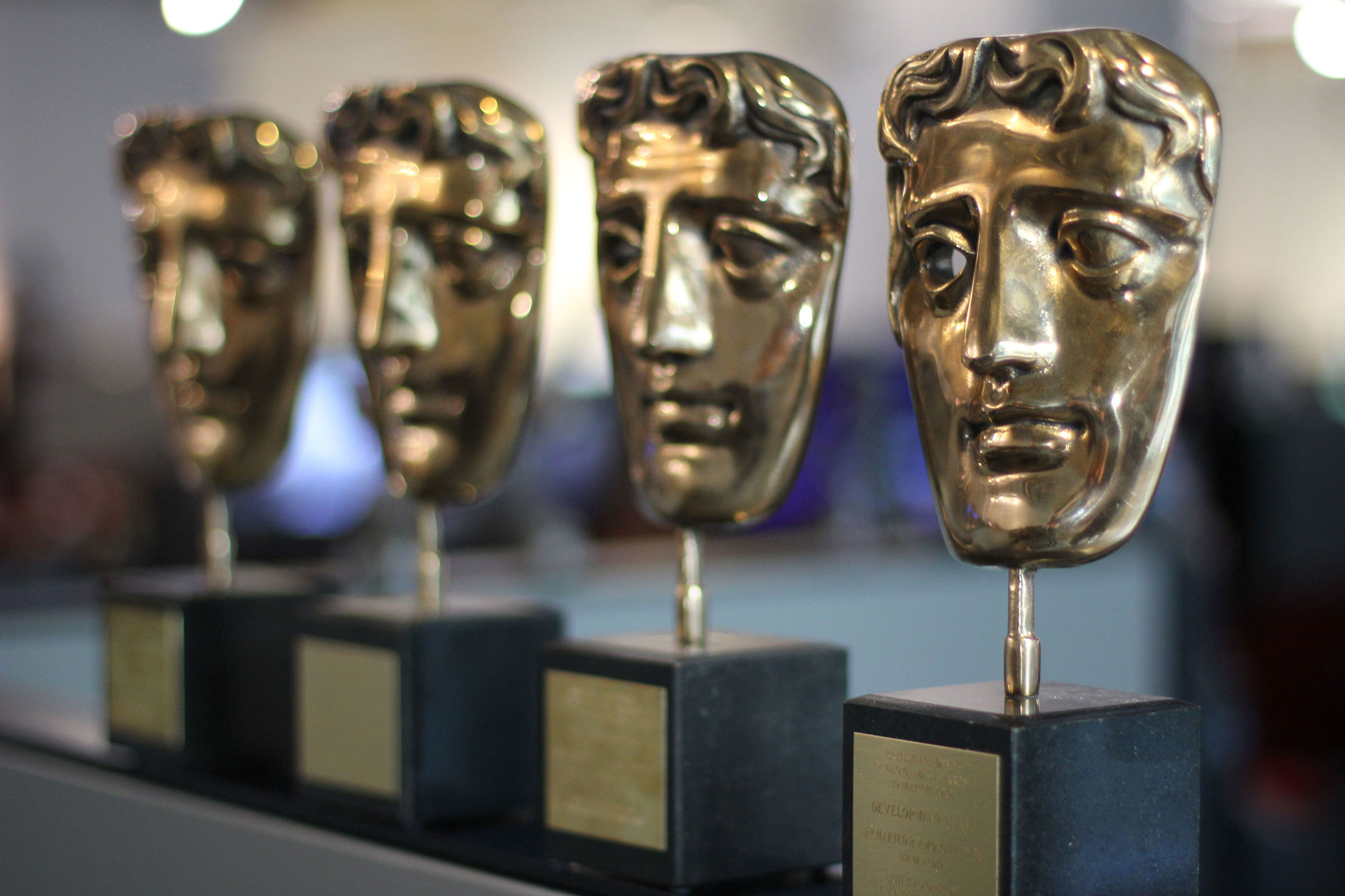 A side profile of BAFTA games awards won by the studio