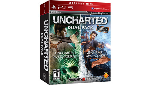 Uncharted Dual Pack - Uncharted 1 and 2 in one box