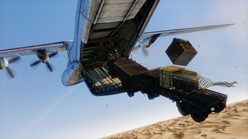 Uncharted 3 Cargo Plane gameplay direct feed from Gamescom and PAX!