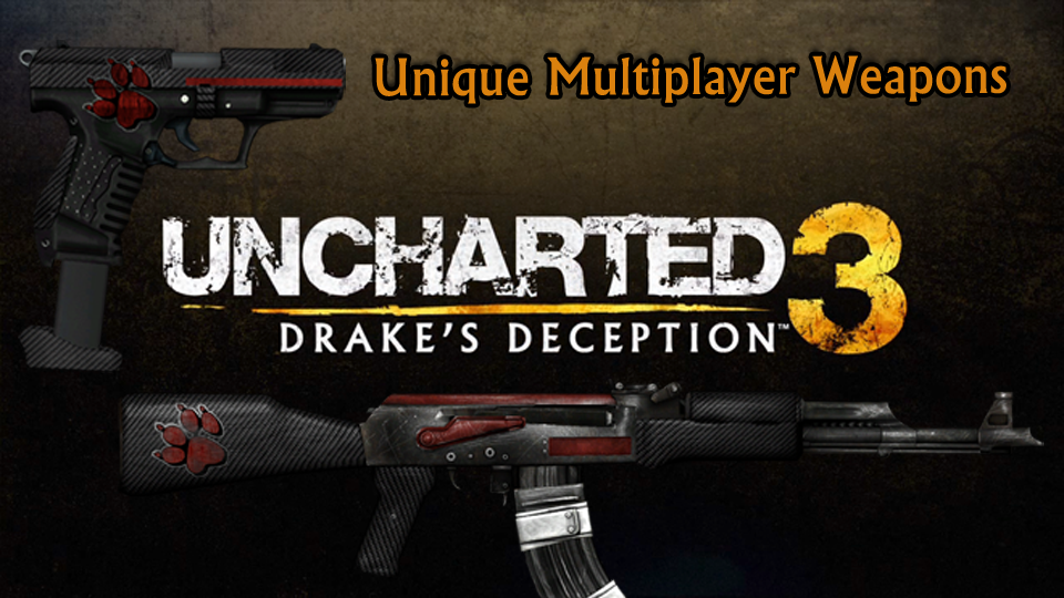 Unique Weapons in Uncharted 3 Multiplayer- Part 2: Long Guns