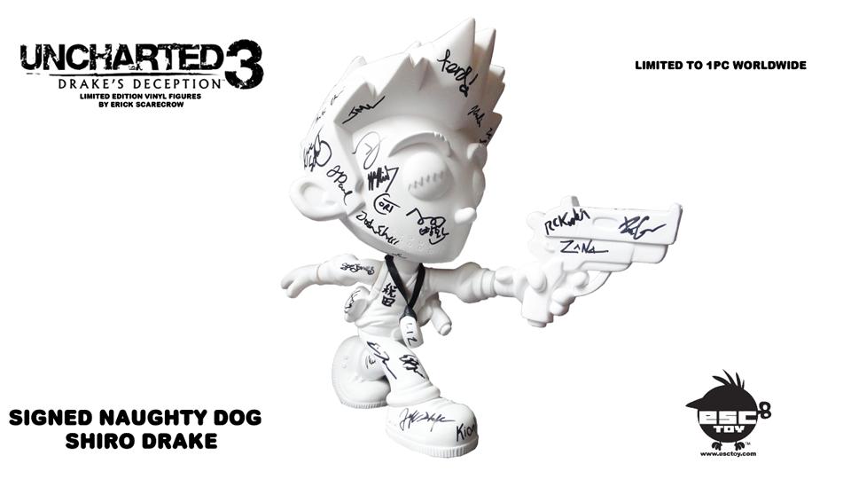 Exclusive Naughty Dog UNCHARTED x EscToy Vinyl Figures