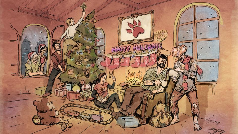 Happy Holidays from Naughty Dog!