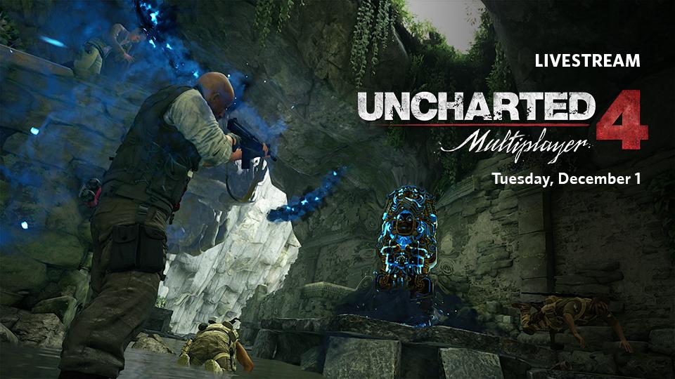 Uncharted 4 Multiplayer Beta Stream