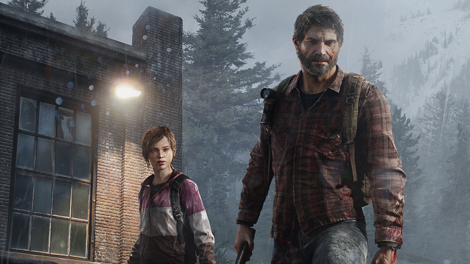 The Last of Us Winter Cover Render