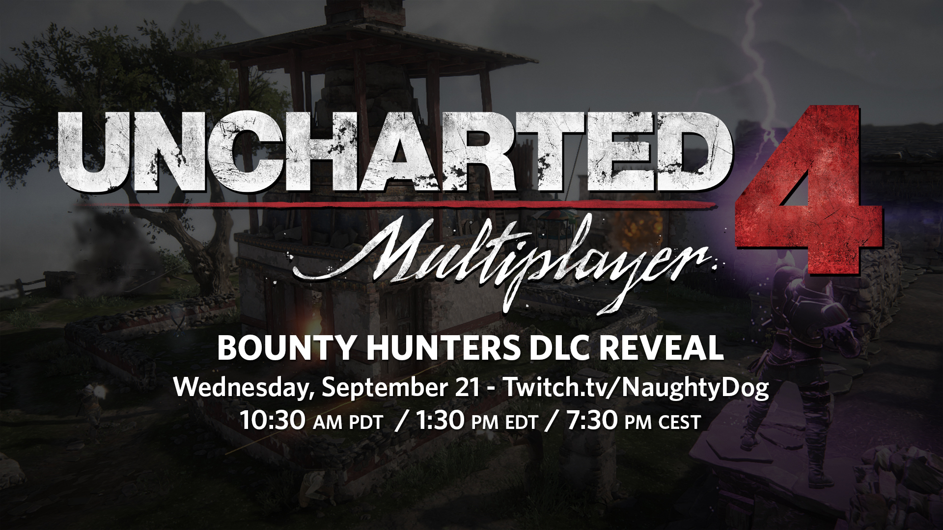 Uncharted 4 Multiplayer: Bounty Hunters DLC Reveal Set for September 21