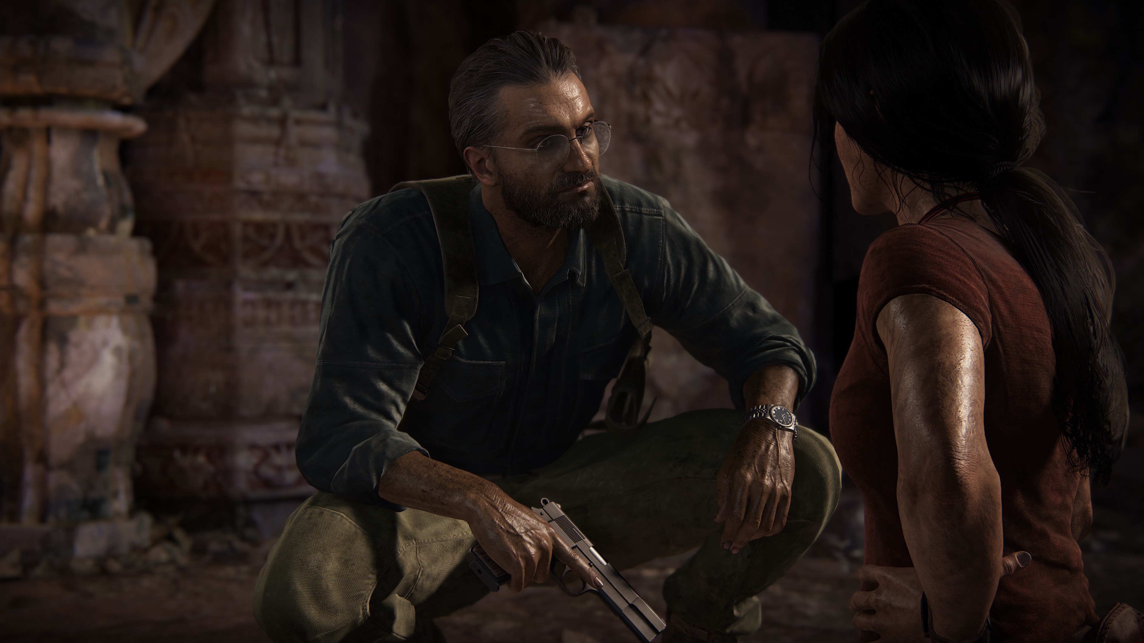 Watch the Uncharted: The Lost Legacy Extended E3 Demo