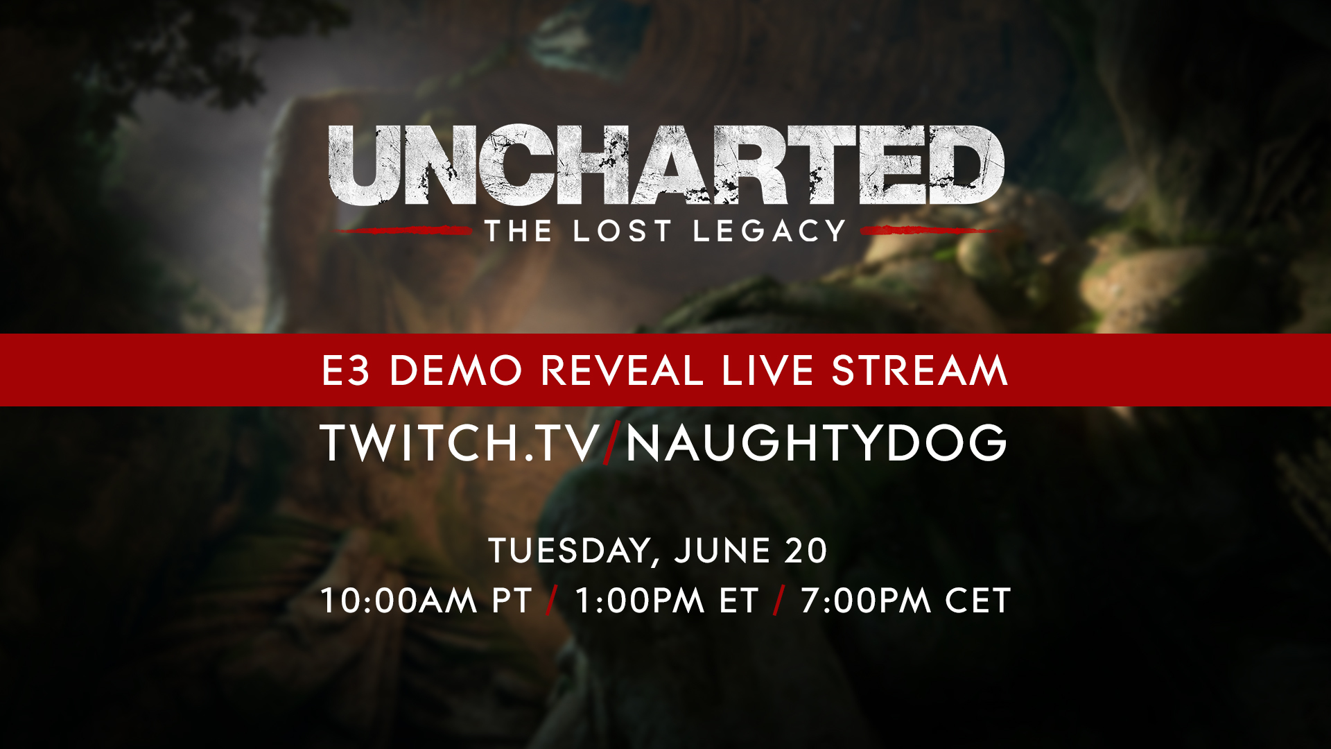 Uncharted: The Lost Legacy Gameplay Debuting on June 20
