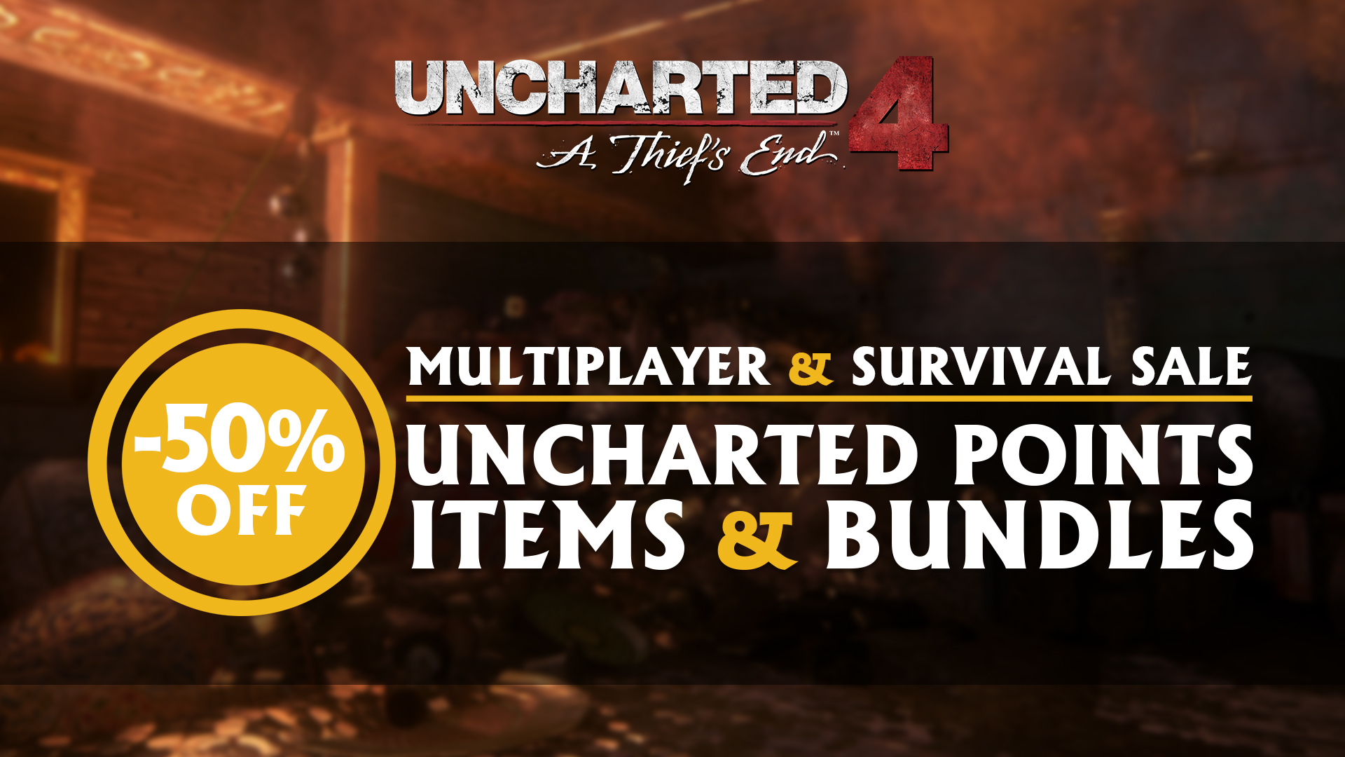 The Uncharted 4 Multiplayer Sale Starts Now!