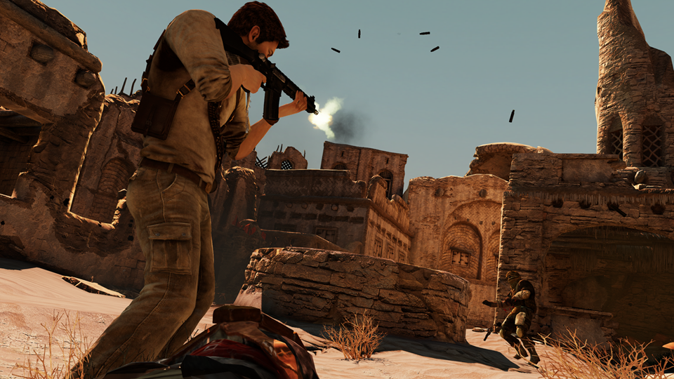 A look at gun mechanics in single-player and multiplayer