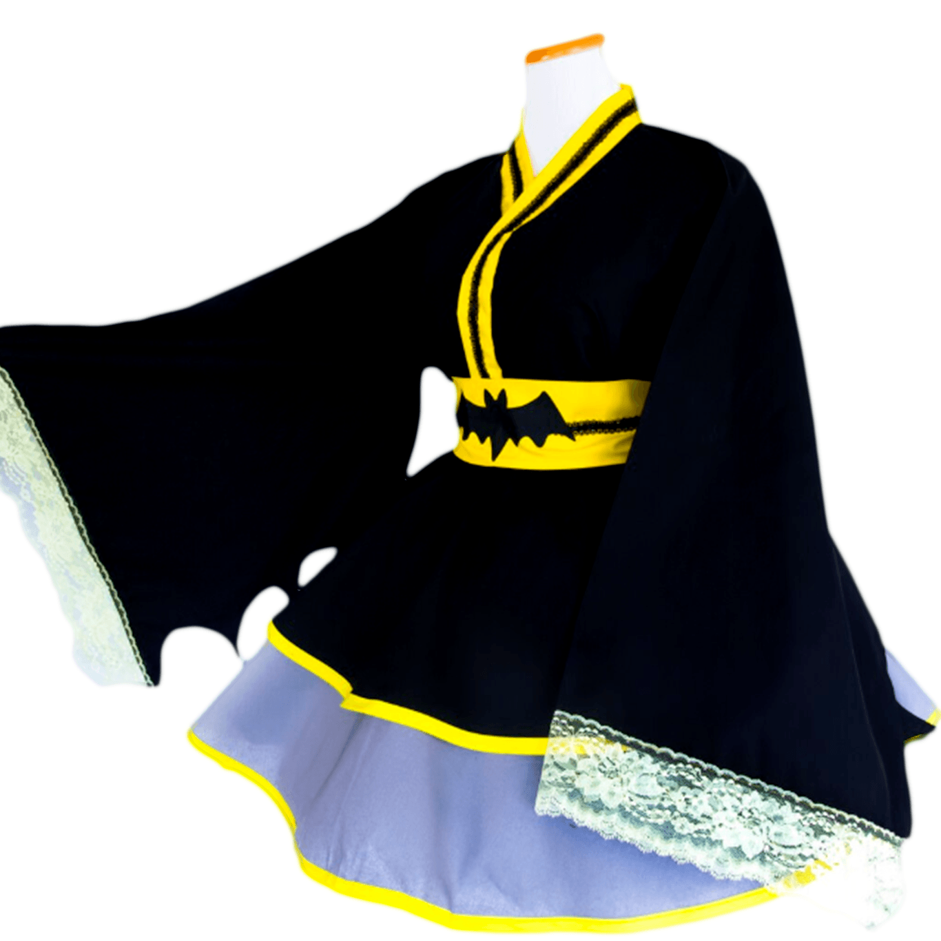 Cosplay Vestido Lolita Batman