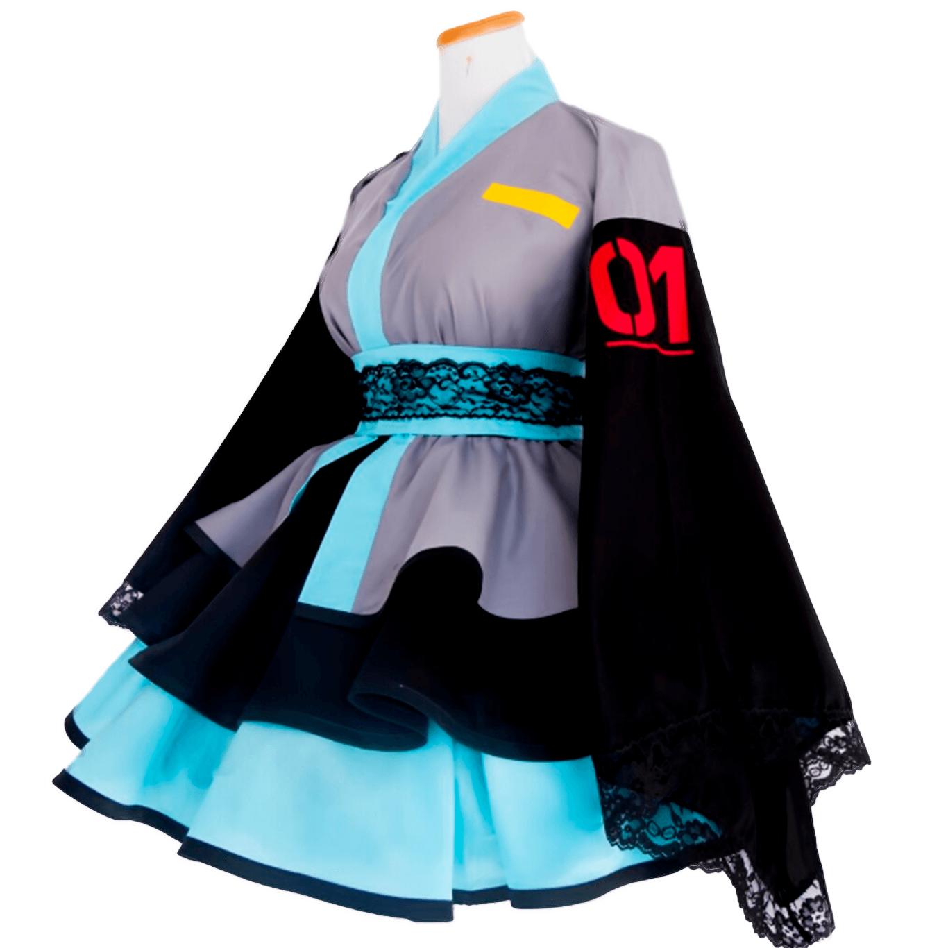 Cosplay Vestido Lolita Hatsune Miku Vocaloid