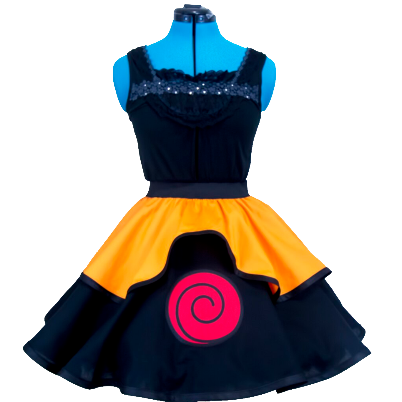 Cosplay Vestido Lolita Uzumaki