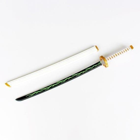 Espada Katana Agatsuma Zenitsu Kimetsu no Yaiba