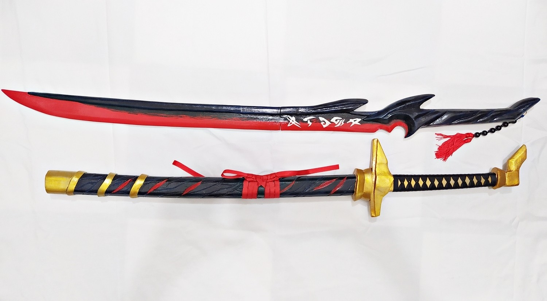 Espadas Yone Azakana blade & Wind katana
