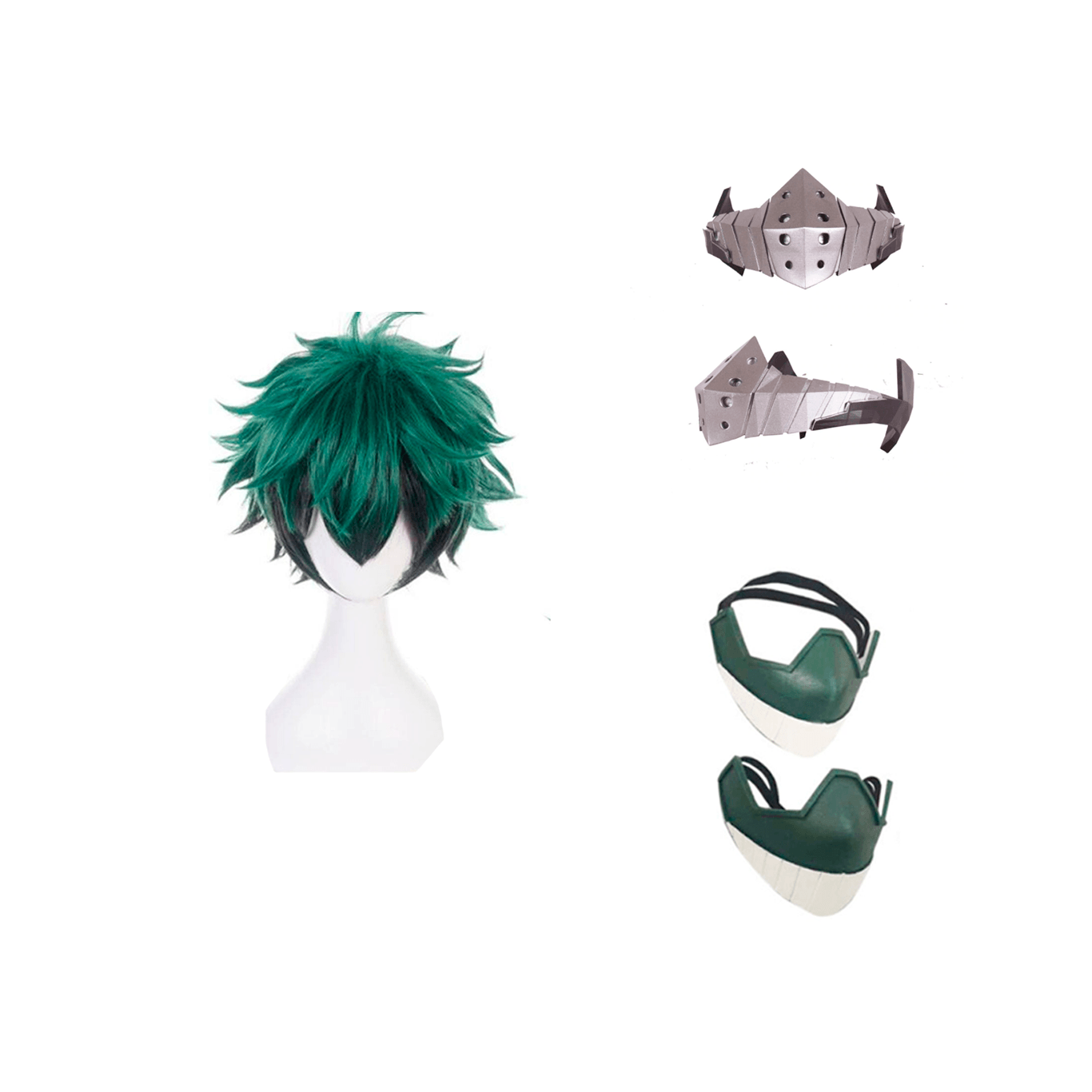 Kit cosplay Izuku Midoriya, Boku no Hero Academia