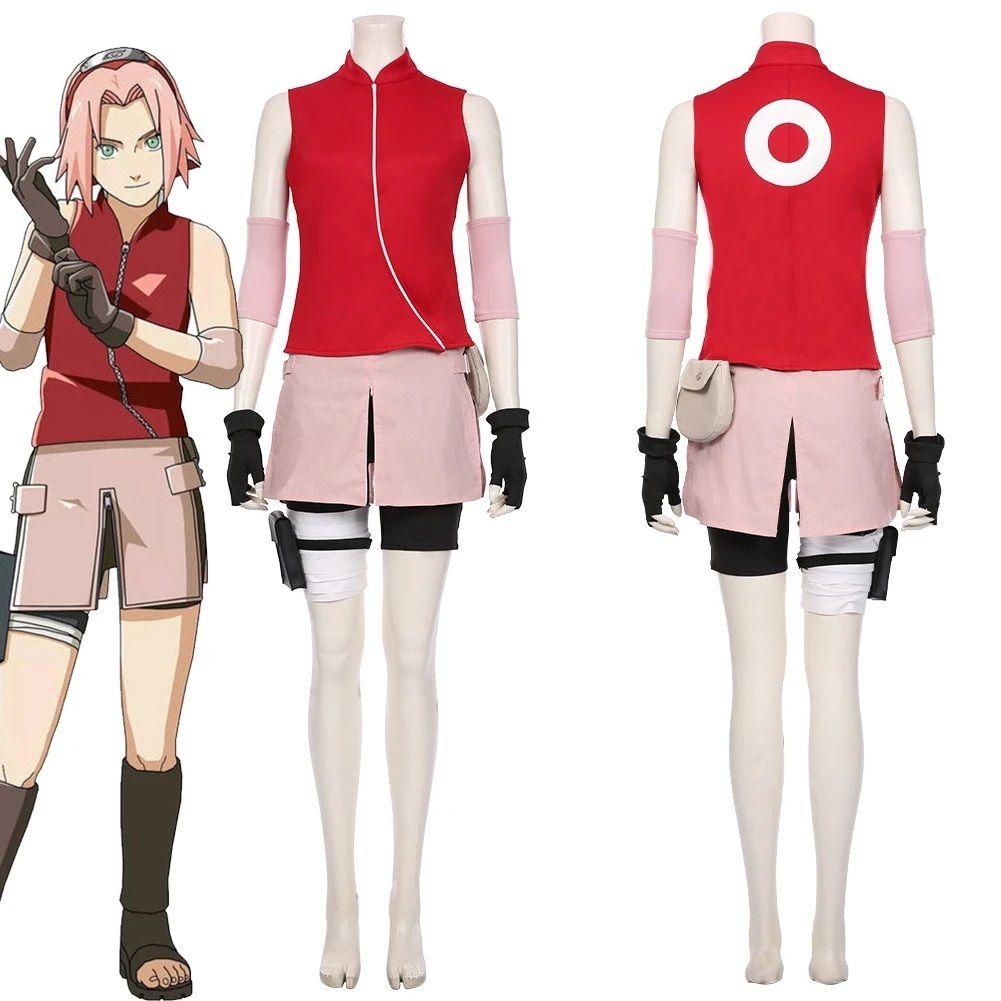 Cosplay Haruno Sakura Naruto