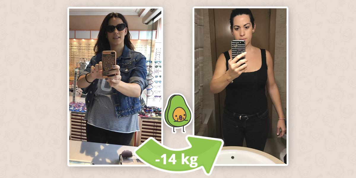 -14 kg: Vanessa te cuenta cómo conseguir tu peso ideal