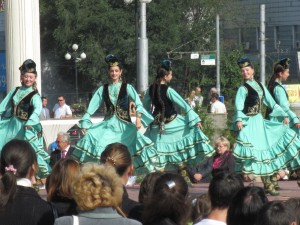 Russia folk dance