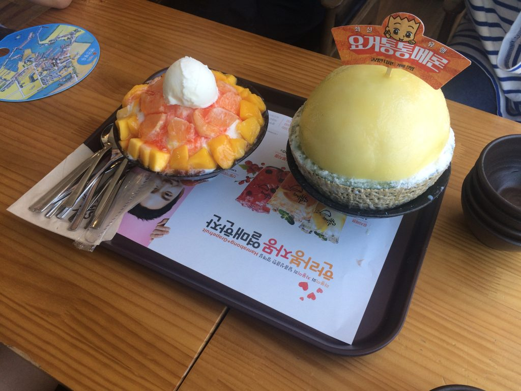 Picture of Korean ice cream desserts