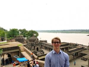 Jordan pictured in India